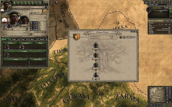Crusader Kings II: African Portraits on PC screenshot #1