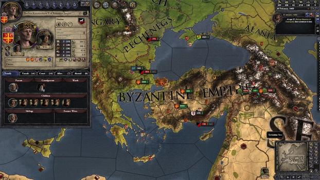 Crusader Kings II: Byzantine Unit Pack on PC screenshot #5