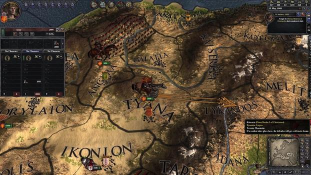Crusader Kings II: Byzantine Unit Pack on PC screenshot #4