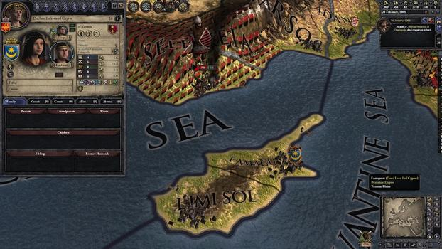 Crusader Kings II: Byzantine Unit Pack on PC screenshot #2