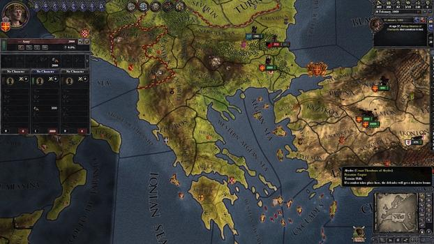 Crusader Kings II: Byzantine Unit Pack on PC screenshot #1