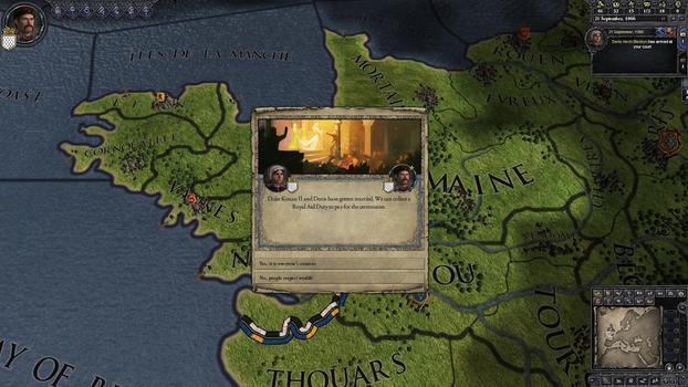 Crusader Kings II: Celtic Portraits on PC screenshot #5