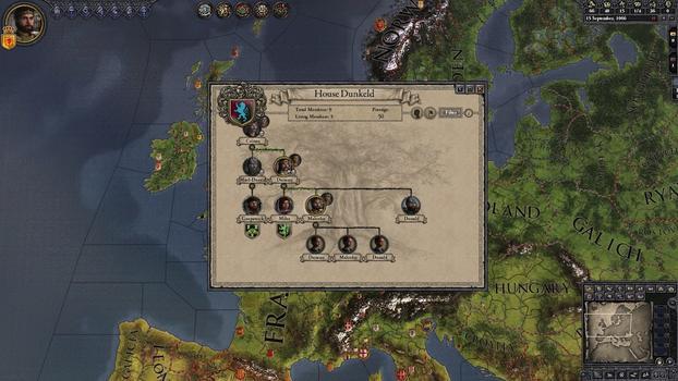 Crusader Kings II: Celtic Portraits on PC screenshot #3