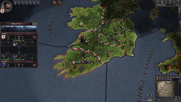 Crusader Kings II: Celtic Portraits on PC screenshot #1