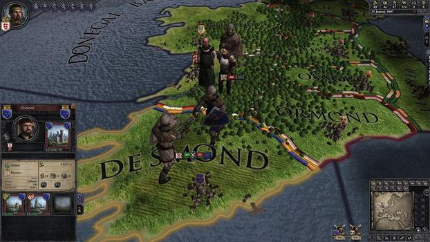Crusader Kings II: Celtic Unit Pack on PC screenshot #3