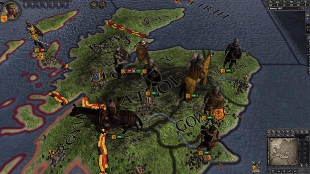 Crusader Kings II: Celtic Unit Pack on PC screenshot #1