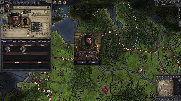 Crusader Kings II: Customization Pack on PC screenshot #6