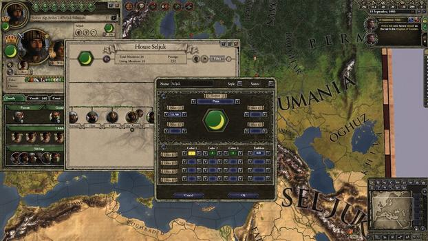 Crusader Kings II: Customization Pack on PC screenshot #3