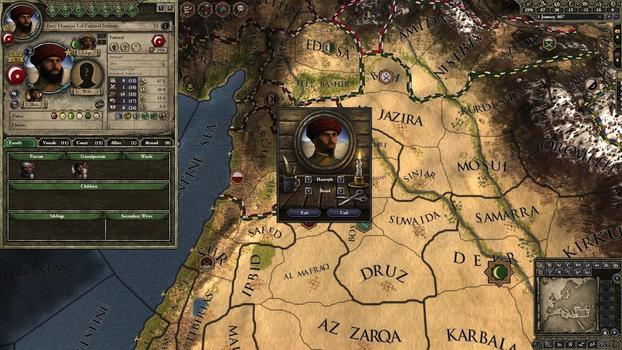 Crusader Kings II: Customization Pack on PC screenshot #1
