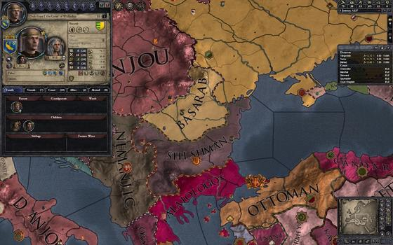 Crusader Kings II: Dynasty Shield II on PC screenshot #5