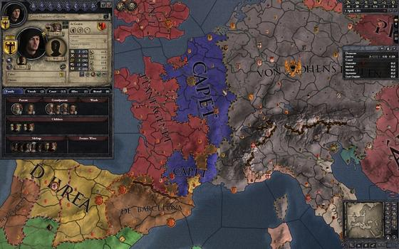 Crusader Kings II: Dynasty Shield II on PC screenshot #3
