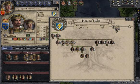 Crusader Kings II: Dynasty Shields on PC screenshot #3