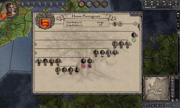 Crusader Kings II - Dynasty Shields DLC on PC screenshot #5