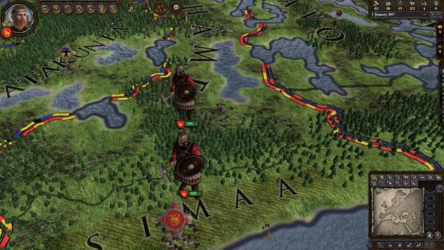 Crusader Kings II: Finno - Ugric Unit Pack on PC screenshot #4