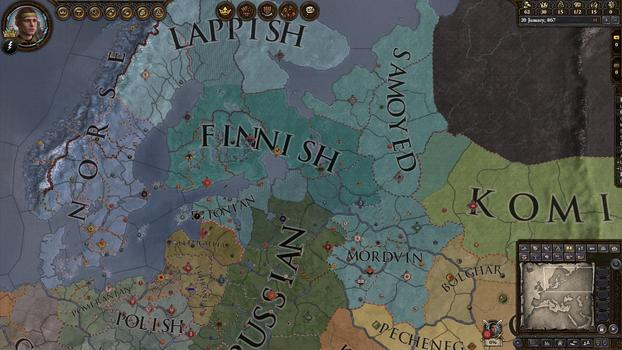 Crusader Kings II: Finno - Ugric Unit Pack on PC screenshot #3