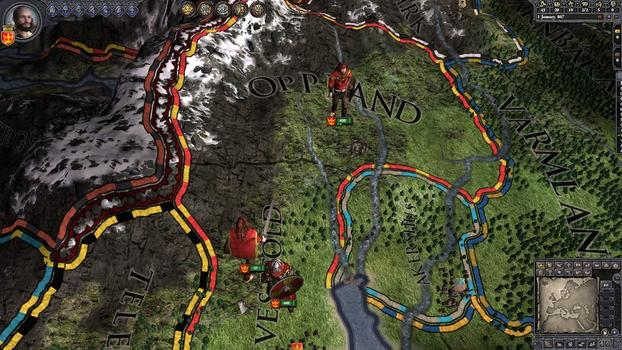 Crusader Kings II: Hymns to the Old Gods on PC screenshot #5