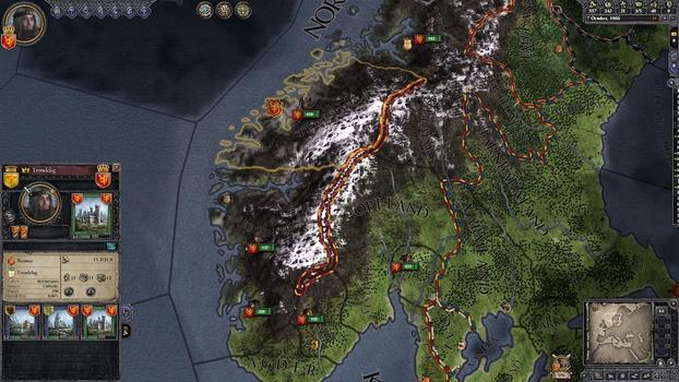 Crusader Kings II: Hymns to the Old Gods on PC screenshot #4