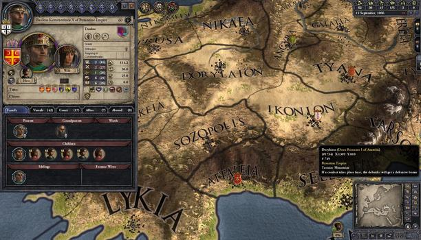 Crusader Kings II: Mediterranean Portraits on PC screenshot #3
