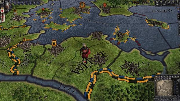 Crusader Kings II: Military Orders Unit Pack on PC screenshot #5