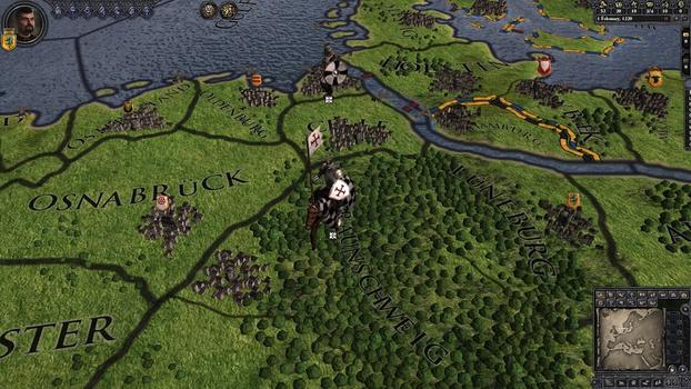 Crusader Kings II: Military Orders Unit Pack on PC screenshot #4