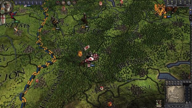 Crusader Kings II: Military Orders Unit Pack on PC screenshot #3