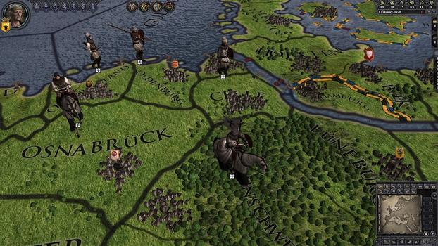 Crusader Kings II: Military Orders Unit Pack on PC screenshot #1