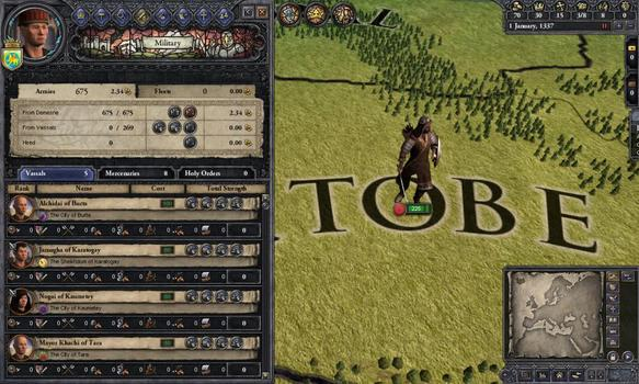 Crusader Kings II: Mongol Faces on PC screenshot #3