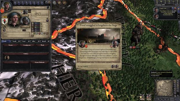 Crusader Kings II: Norse Portraits on PC screenshot #1