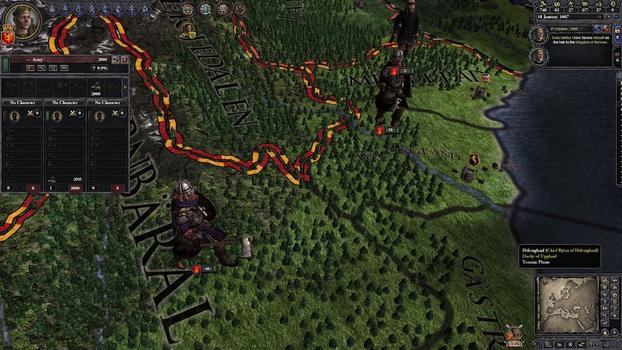 Crusader Kings II: Norse Unit Pack on PC screenshot #1
