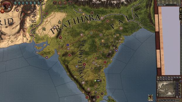 Crusader Kings II: Rajas of India on PC screenshot #6