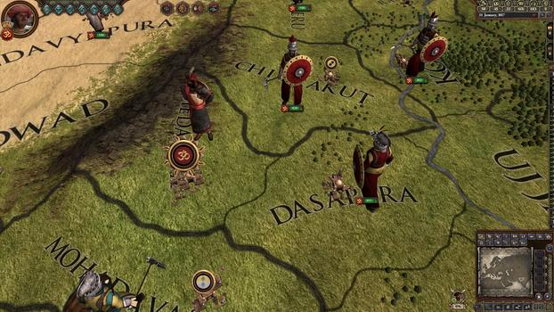 Crusader Kings II: Rajas of India on PC screenshot #2