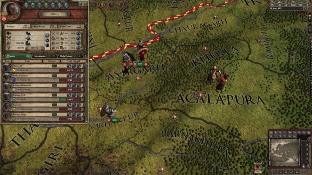 Crusader Kings II: Rajas of India on PC screenshot #1