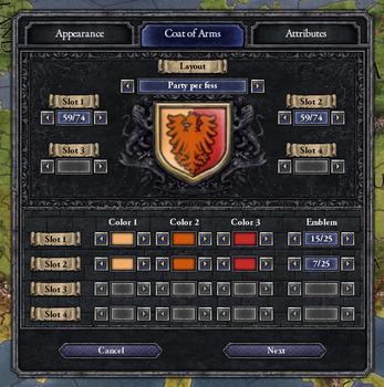 Crusader Kings II: Ruler Designer on PC screenshot #4