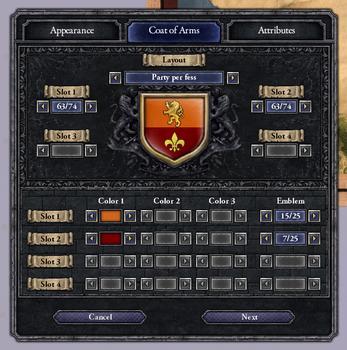 Crusader Kings II: Ruler Designer on PC screenshot #5