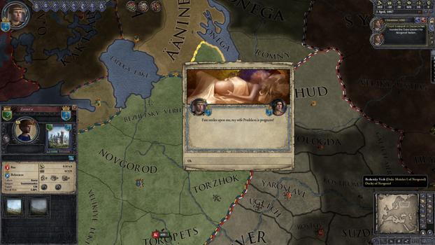 Crusader Kings II: Russian Portraits on PC screenshot #5