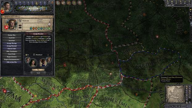 Crusader Kings II: Russian Portraits on PC screenshot #3