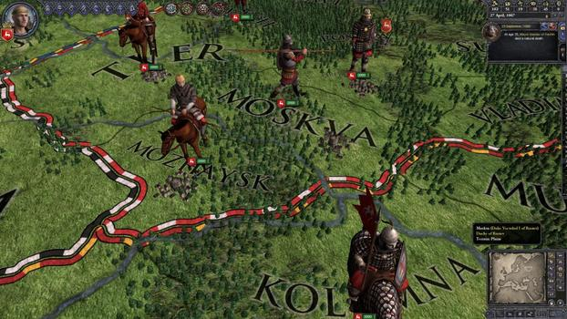 Crusader Kings II: Russian Unit Pack on PC screenshot #5