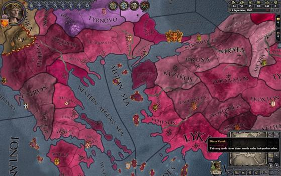 Crusader Kings II: Songs of Byzantium on PC screenshot #5