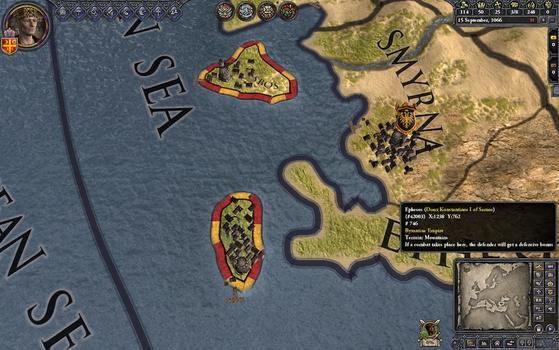 Crusader Kings II: Songs of Byzantium on PC screenshot #2