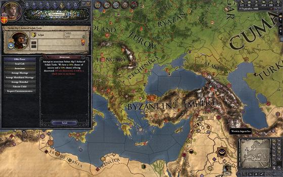 Crusader Kings II: Songs of the Holy Land on PC screenshot #5