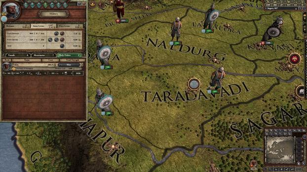 Crusader Kings II: Songs of India  on PC screenshot #1