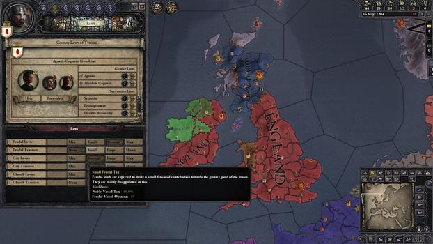 Crusader Kings II: Songs of Prosperity on PC screenshot #3
