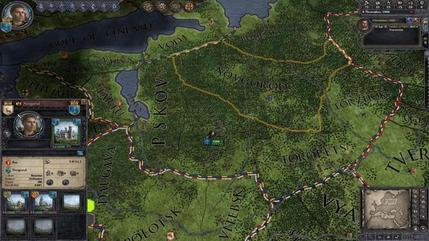 Crusader Kings II: Songs of the Rus on PC screenshot #4