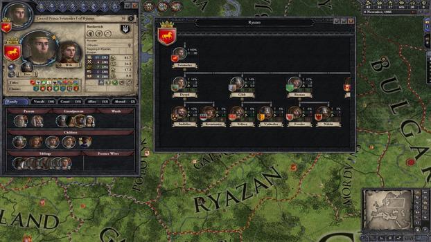 Crusader Kings II: Songs of the Rus on PC screenshot #2