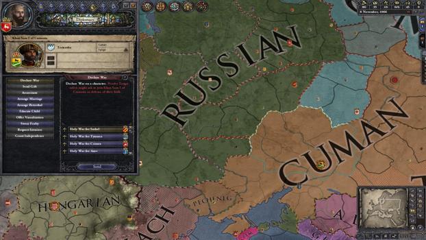 Crusader Kings II: Songs of the Rus on PC screenshot #1
