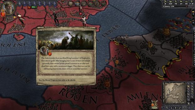 Crusader Kings II: Sunset Invasion on PC screenshot #5