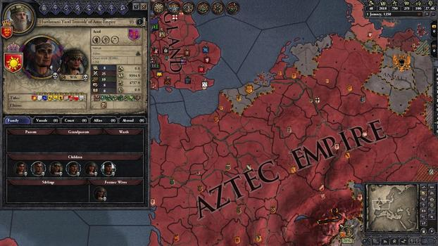 Crusader Kings II: Sunset Invasion on PC screenshot #3