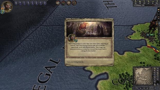 Crusader Kings II: Sunset Invasion on PC screenshot #1