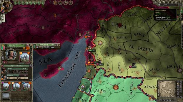 Crusader Kings II: Sword of Islam on PC screenshot #5