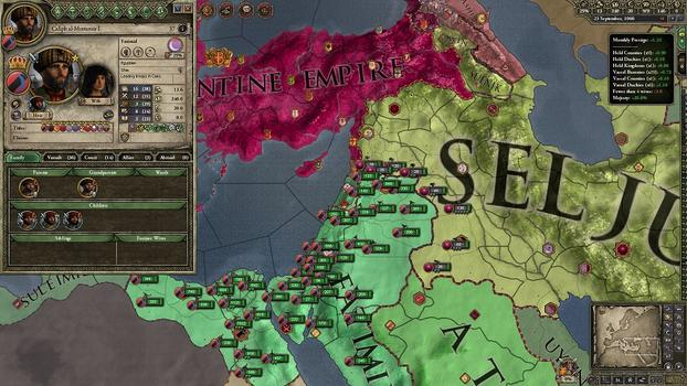 Crusader Kings II: Sword of Islam on PC screenshot #4